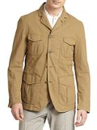 Incotex Double-faced Water-repellant Jacket