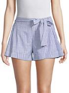 Parker Bow Cotton Shorts
