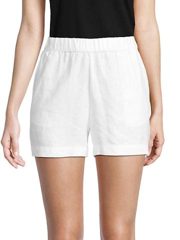 Saks Fifth Avenue Linen Shorts