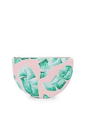 Saks Fifth Avenue Palm Bikini Pouch