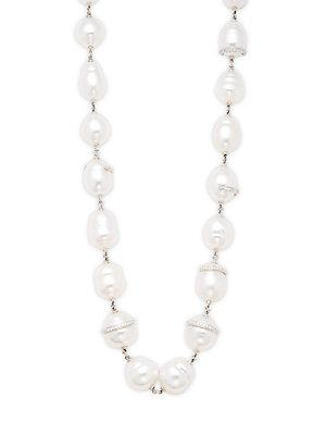 Tara Pearls White Pearl Necklace