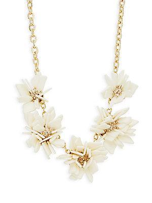 Natasha Crystal Floral Statement Necklace