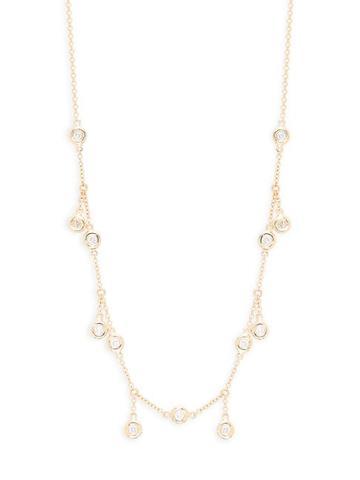 Diana M Jewels 14k Yellow Gold & 0.34 Tcw Diamond Necklace