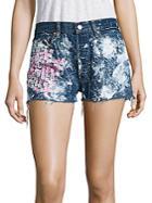 Rialto Jean Project Vintage 501 Cherry Blossom Cut-off Shorts