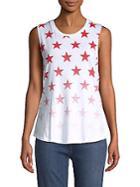 Chrldr Star Cotton Tank Top