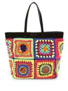 Moschino Crochet Tote Bag