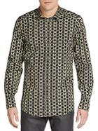 Dolce & Gabbana Owl Print Gold Jdep Shirt