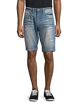 Buffalo David Bitton Distressed Denim Shorts