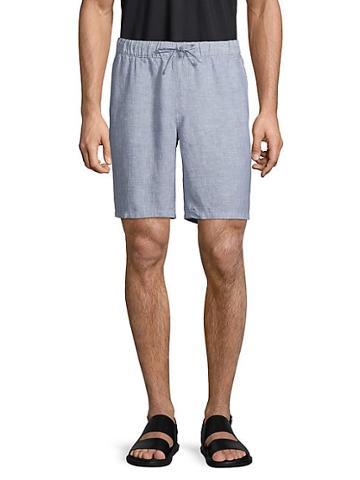 Saks Fifth Avenue Drawstring Linen Shorts
