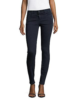 Peserico Solid Skinny Jeans