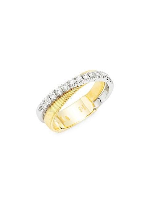 Marco Bicego Masai Diamond 18k Gold Ring
