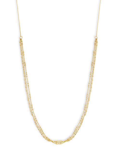 Gorjana 18k Goldplated Strand Necklace
