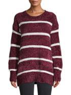 Lucca Striped Crewneck Sweater