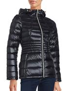 Calvin Klein Packable Hooded Down Coat