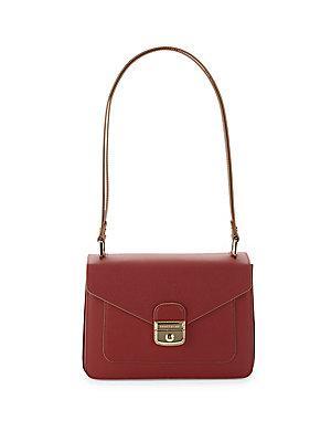 Longchamp Le Pliage Herit Leather Shoulder Bag
