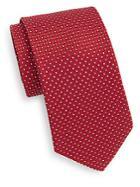 Saks Fifth Avenue Patterned Silk Tie