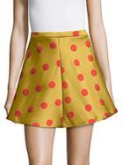 Redvalentino Polka-dot Mini Skirt