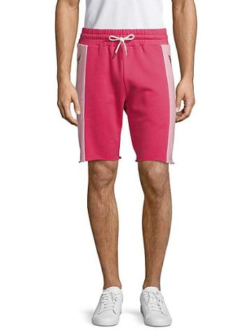 Russell Park Drawstring Cotton-blend Shorts