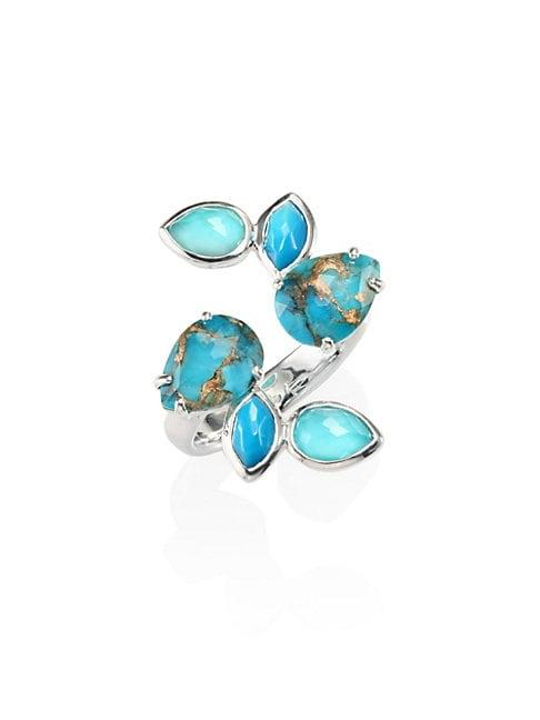 Ippolita Rock Candy® Turquoise & Sterling Silver Open Ring