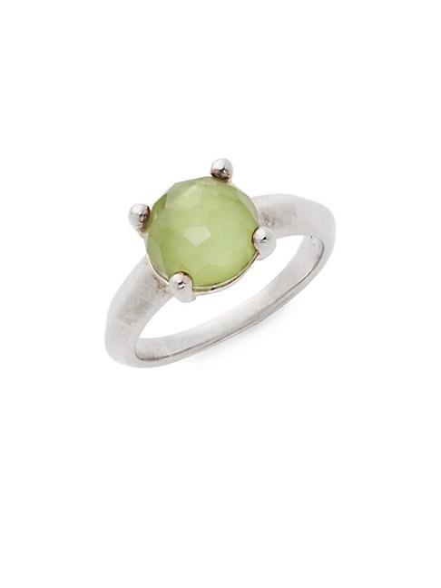 Ippolita Wonderland Sterling Silver & Clear Quartz Ring