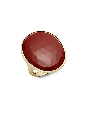 Marco Bicego Red Jasper & 18k Gold Ring