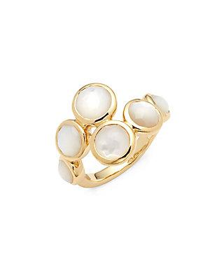 Ippolita Lollipop Mother-of-pearl And 18k Gold Ring