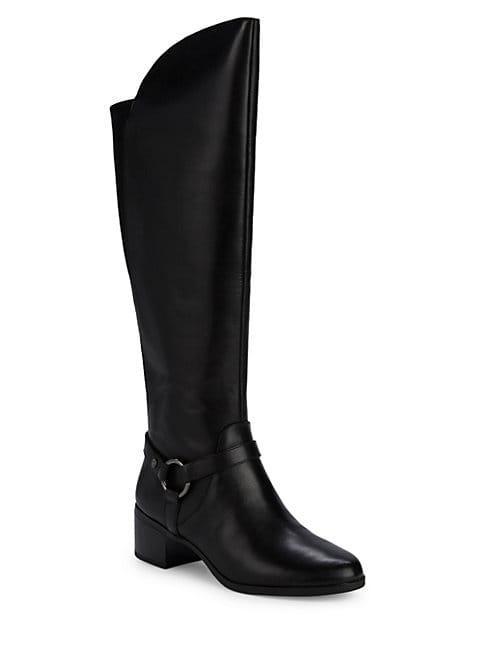 Anne Klein Jamari Leather Boots