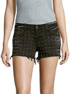 Siwy Studded Denim Shorts