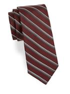 Theory Stripe-print Silk Tie