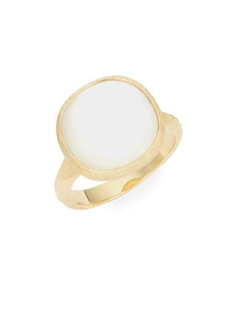 Marco Bicego 18k Yellow Gold Mother-of-pearl Ring