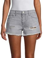 Joe's Gabrielle Distressed Denim Shorts