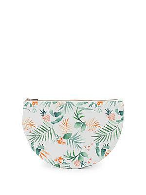 Saks Fifth Avenue Pineapple Bikini Pouch