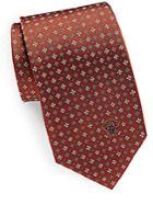 Versace Patterned Silk Tie
