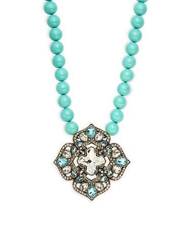 Heidi Daus Ode To Mode Pendant Necklace