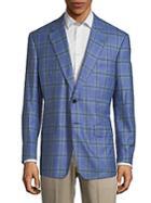 Lutwyche Plaid Wool Jacket