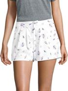 Joie Anci Ditsy Floral Print Shorts