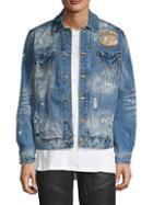 Affliction Distressed Denim Jacket
