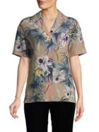 Valentino Floral Silk Shirt
