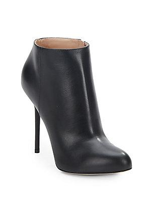 Sergio Rossi Leather Booties