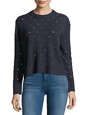Inhabit Perforated Cashmere Sweater