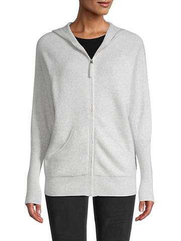 Saks Fifth Avenue Cashmere Knit Hoodie