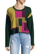 Versace Jeans Colorblock Sweater