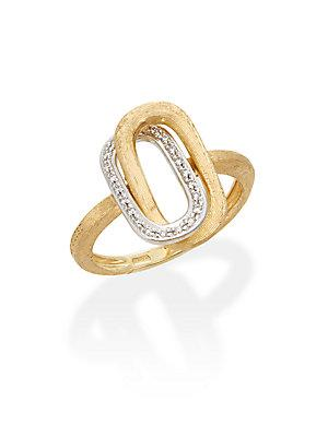 Marco Bicego 18k Yellow Gold Diamond Ring