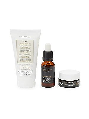 Korres Firming And Nourishing Beauties Tightening Cleanse And Contour Collection