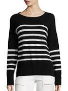 Joie Simonne Mariner Stripe Cashmere Knit Sweater