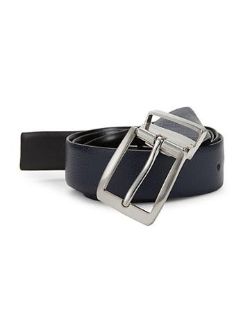 Saks Fifth Avenue Classic Grained Leather Belt