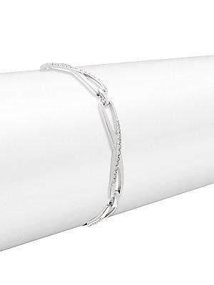 Swarovski Crystal Crisscross Bracelet