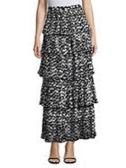 Delfi Collective Demi Pleated Polka Dot Skirt