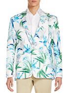 Tallia Tropical Linen Blazer