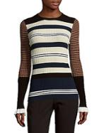 Opening Ceremony Striped Roundneck Top